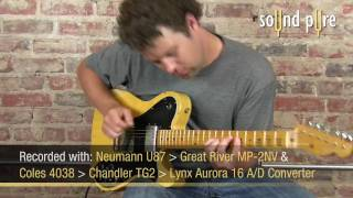 Nash TC-72 Butterscotch Blonde Electric Guitar at SoundPure