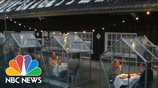 How Restaurants Are Changing Because Of The Coronavirus Pandemic | NBC Nightly News