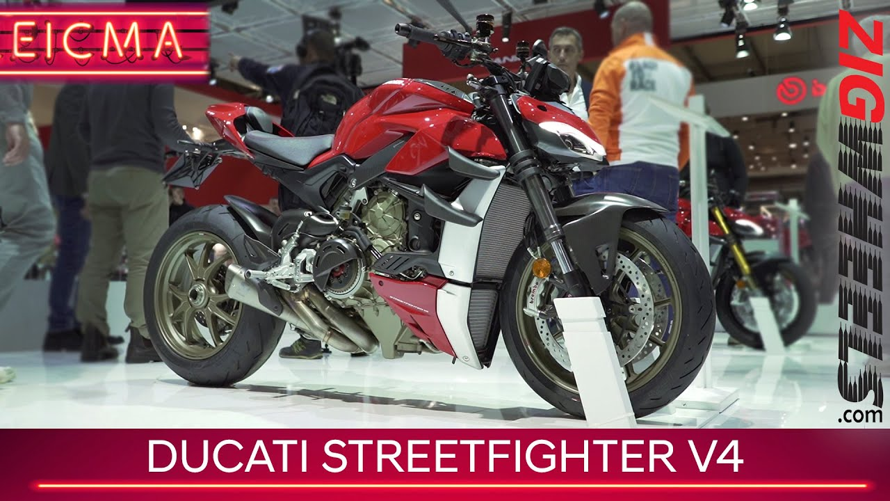 Ducati Streetfighter V4 | The Most Mental Naked | EICMA 2019