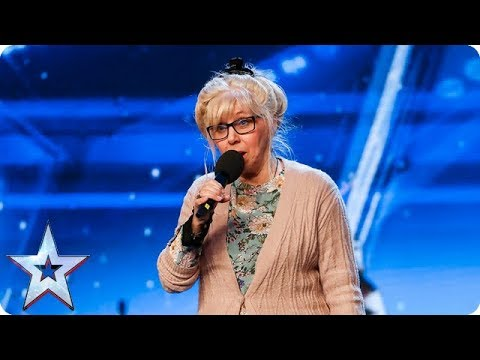 ROCK SHOCK! Get your air guitars out for Jenny Darren! | Auditions | BGT 2018
