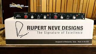 Rupert Neve 5211 2 Channel Mic Pre Demo