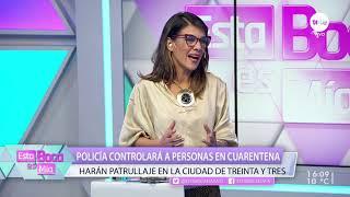 Policía controlará a personas en cuarentena: harán patrullaje en la ciudad de Treinta y Tres /1