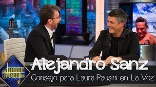 Alejandro Sanz aconseja a Laura Pausini para no meter la pata en 'La Voz' 2020 - El Hormiguero 3.0