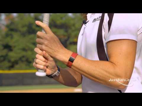 How to Grip a Softball Bat with Michele Smith Video