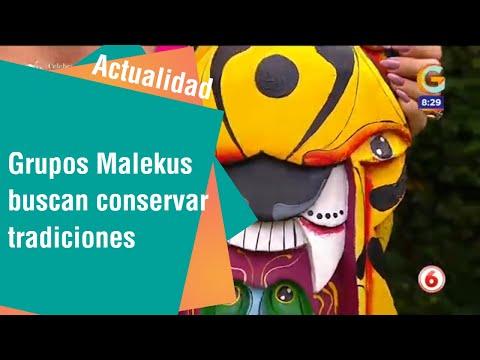 Grupos Malekus buscan conservar tradiciones en máscaras y vestuario | Cultura