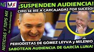 ¡ SABOOTEANN AUDIENCIA DE GENARO GARCIA LUNA ! POR PERIODISTAS DE CIRO GOMEZ LEYVA y DE MILENIO