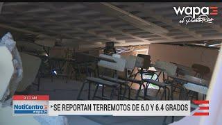 Preocupante colapso de escuela en Guánica tras terremoto