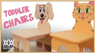 Dog & Cat Chairs for Kids | MAKERS CARE 2016 THEME: ANIMALS. Get involved!