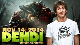 Dota 2 Stream: Na`Vi Dendi - Pudge (Gameplay & Commentary)