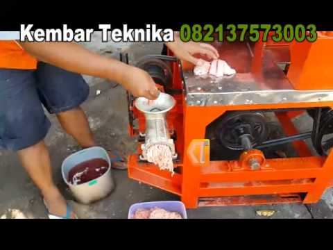 Video Mesin Giling Daging