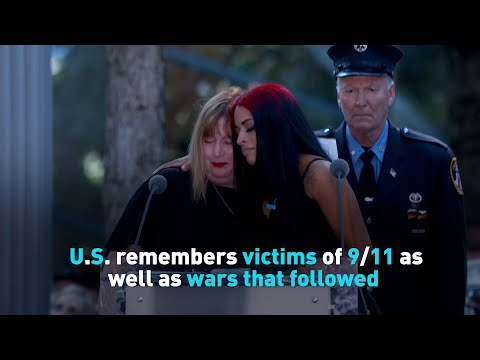 U.S. remembers victims of 9/11 as well as wars that followed
