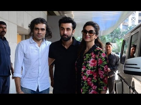 Ranbir Kapoor And Deepika Padukone's Coffee Date!