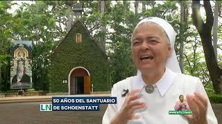 Celebran 50 años de Santuario de Schoenstatt