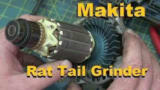 BOLTR: US built Makita 5 inch angle grinder