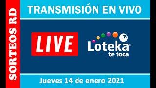 Loteka en vivo ? Jueves 14 de enero 2021 – 7:55 P.M