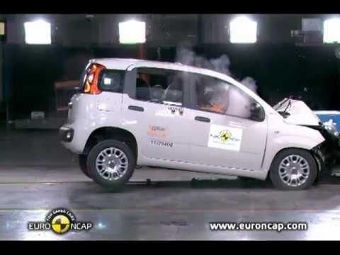 2012 Fiat Panda Accident test
