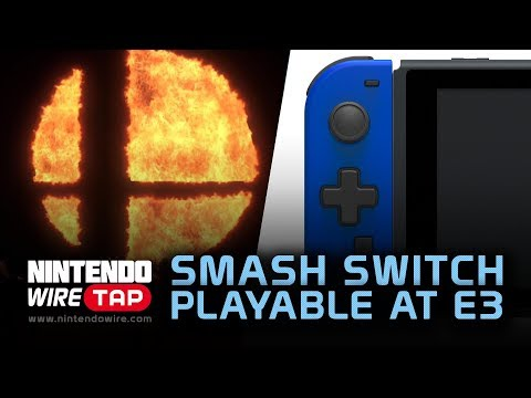 connectYoutube - Smash Switch Playable at E3 and D-Pad Joy-Con Incoming   Nintendo Wiretap