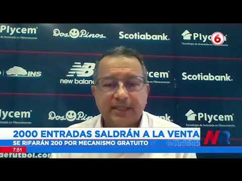 Fedefutbol venderá boletos para ver a La Sele