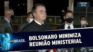 Bolsonaro reage à divulgação de reunião ministerial: