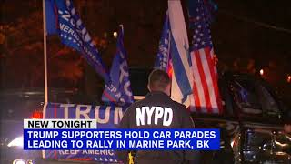 Jews For Trump car parade stirs protests, fights across NYC