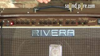 Rivera Sedona 55 Acoustic Electric Guitar Amplifier Demo Video