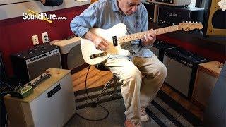 Michael Tuttle Custom Classic T Mary Kay White Nitro #591—Quick 'n' Dirty