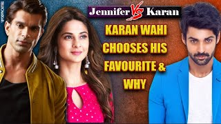 Dill Mill Gayee | Karan Wahi chooses hi favourite co-star | Whom did he choose? | TellyChakkar - TELLYCHAKKAR