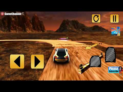 Impossible Tracks Racing Car Stunts Stunt Driving / Android Gameplay Video