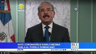 Danilo Medina anuncia nuevas medidas