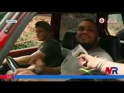 Reportan dos hundimientos en menos de 15 días en Cartago