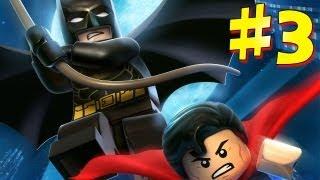 Lego Batman 2: DC Super Heroes - Walkthrough - Part 3 [HD] (X360/PS3/Wii/PC)
