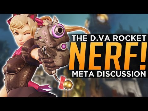 Overwatch: Is the D.Va NERF Enough!? - Meta Discussion