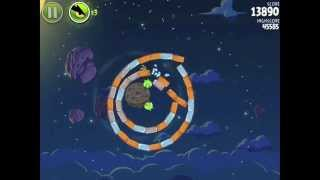 Angry Birds Space Pig Bang 1-28 Walkthrough 3-star