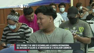 Anuncian en Managua la 24 edición de la carrera internacional El Repliegue - Nicaragua