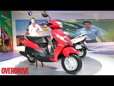 Suzuki Let's Scooter - First Look