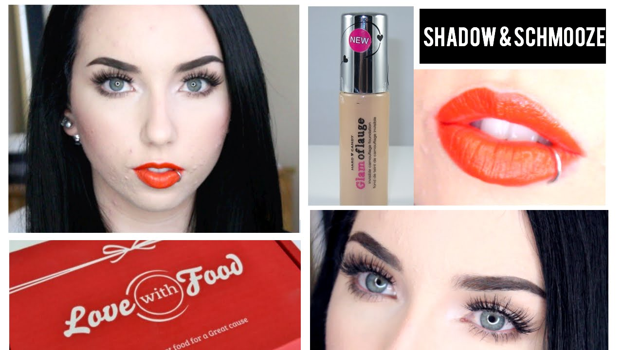 Get Ready With Me | NEW Hard Candy Glamoflauge Foundation & Love With Food Taste Test!