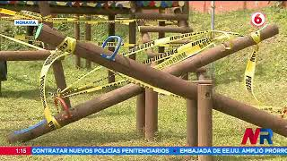 Problemas de aguas residuales impide la apertura de Parque Infantil en Moravia