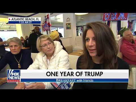 connectYoutube - Breakfast with 'Friends': Reflecting on Trump's first year