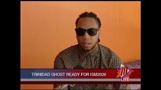 Soca Monarch Finalist Trinidad Ghost Not Intimidated