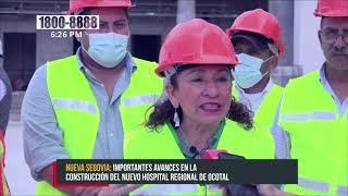 Importantes avances en la construcción del Nuevo Hospital Regional de Ocotal - Nicaragua