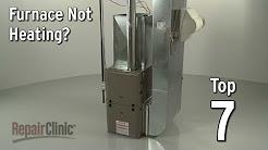 Furnace Not Heating — Furnace Troubleshooting