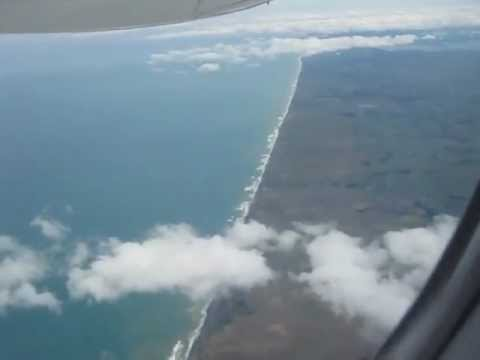 connectYoutube - plane back.from auckland to new plymouth..