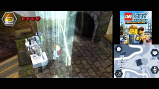 LEGO City Undercover (3DS): The Chase Begins - All 21 Red Brick Locations