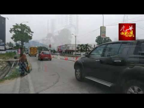 阿尔玛春江园路口车祸频生 威市局听取民意建分界堤