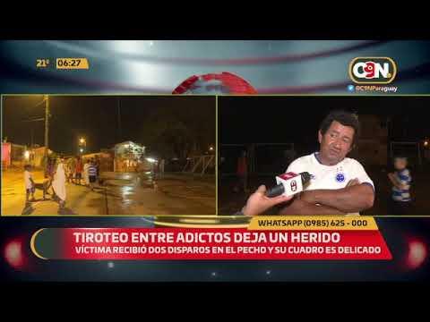 Refugio R.I. 14: Tiroteo entre adictos dejó un herido
