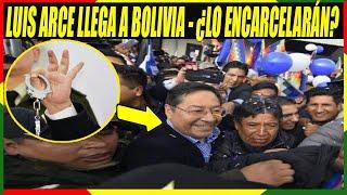 Candidato Presidencial del MAS Luis Arce Llegó a Bolivia - Lo Quieren Encarcelar