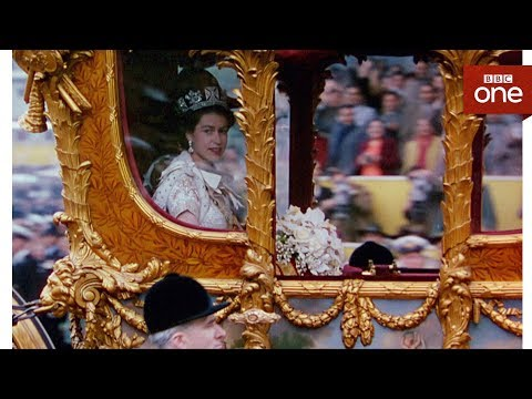 connectYoutube - How comfortable is the queen's carriage? - The Coronation - BBC One