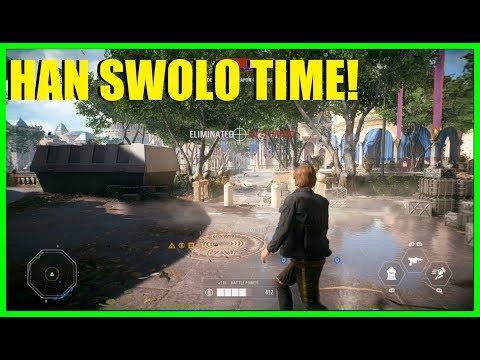 Star Wars Battlefront 2 - Han Solo, good for galactic assault? Nice Han Solo killstreak!