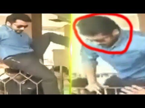 connectYoutube - Suriya Jumps Over the Gate | Fans Go Crazy | Thaanaa Serndha Koottam | TK 809