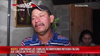 Madriz: Continúan desmintiendo noticias falsas en medio del dolor – Nicaragua